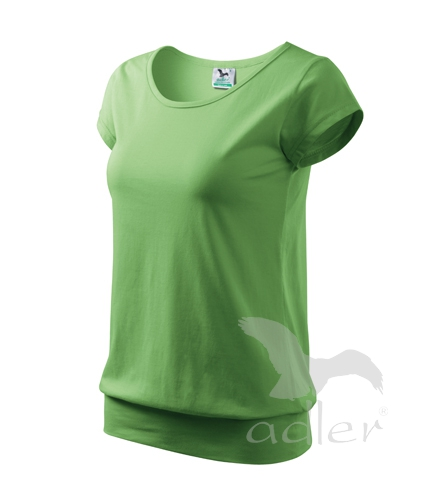 Tričko dámské City 150 trávově zelená XXL