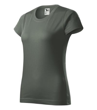 Basic tričko dámské tmavá břidlice 2XL
