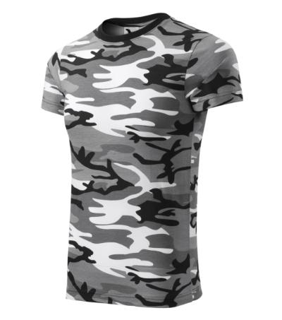 Tričko Camouflage camouflage gray XXXL
