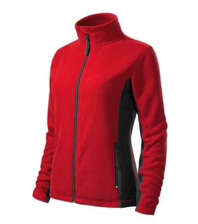 Frosty fleece dámský červená 3XL