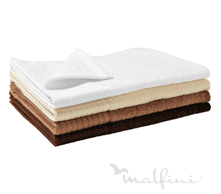 Malfini Bamboo Golf Towel nugátová 30 x 50 cm