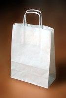 papírové tašky s krouceným uchem