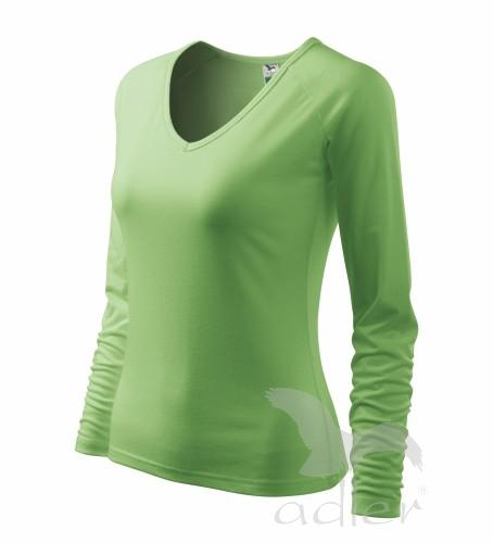 VÝPRODEJ Triko dámské Elegance trávově zelená XS