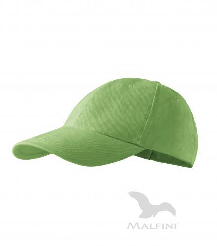 6P čepice unisex trávově zelená nastavitelná