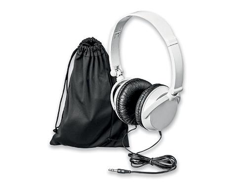 PULSE - plastová audio sluchátka s JACK kabelem