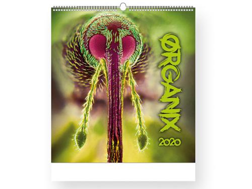 ORGANIX 2019 - nástěnný kalendář, 45x48cm