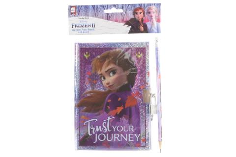 Frozen 2 Tajný deník s tužkou