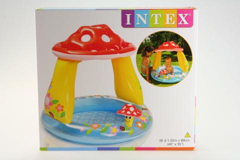 INTEX Bazén muchomůrka 102 x 89 cm 57114