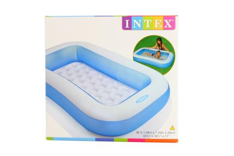 INTEX Bazén obdélník 166 x 100 x 28 cm 57403