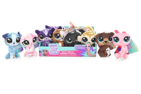 Littlest Pet Shop Plyšák s klipem
