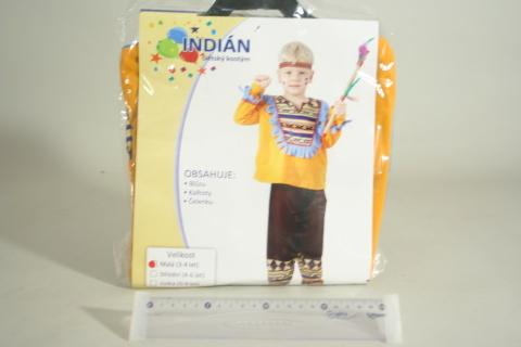 Šaty Indián 3-4 roky