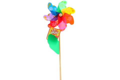 Větrník kytičky