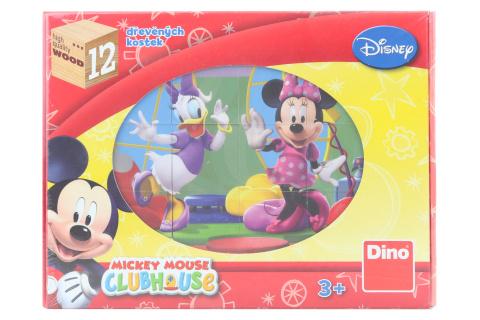 Dřevěné kostky - Mickey Mouse 12