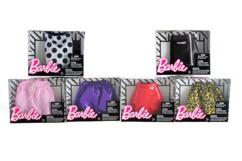 Barbie Sukně a kalhoty FPH22