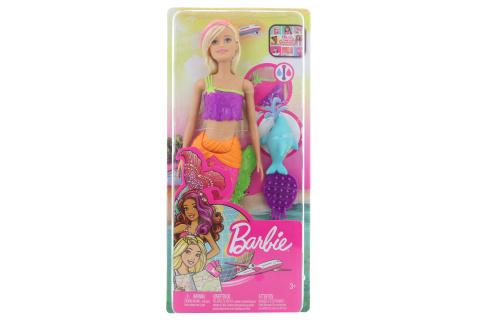 Barbie Mořská víla Barbie GGG58