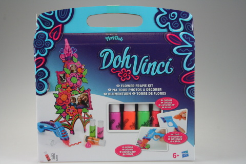 Play Doh Dohvinci set dekorativní květinová věž