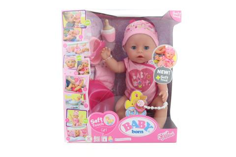 Interaktivní BABY born, 43 cm, holčička TV 1.9. - 31.12.2020