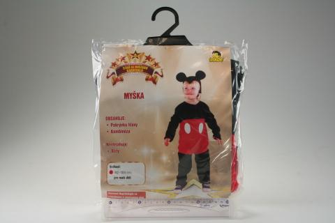 Šaty na karneval - Myška, 92-104 cm