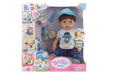 Starší bratříček BABY born Soft Touch, 43 cm TV 1.10. - 31.12.