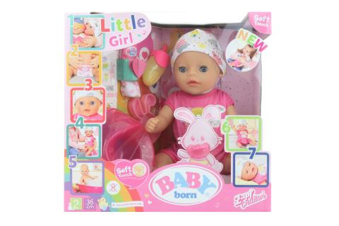 BABY born Soft Touch Little holčička, 36 cm TV 1.10. - 31.12.