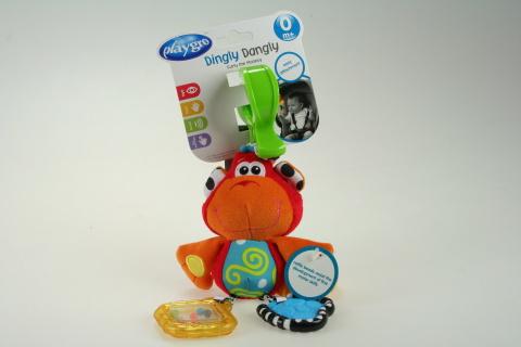 Playgro - Závěsná opička s klipem