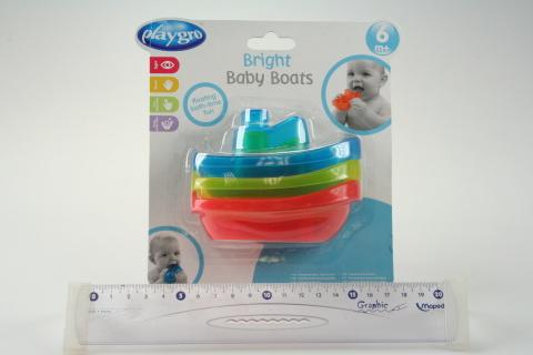 Playgro - Zábavné lodičky do koupele