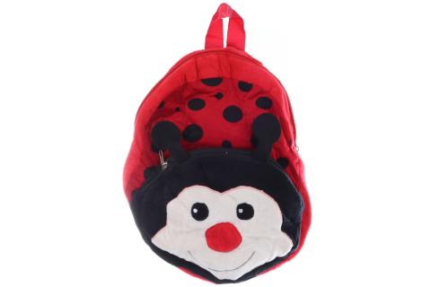 Plyšový batoh beruška s kapsičkou